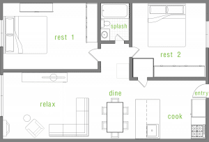 2 Bed / 1 Bath / 685 sq ft / Availability: Please Call / Deposit: $400 / Call for pricing